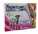 Frontline 20 - 40 kg 3 + 1 gratis